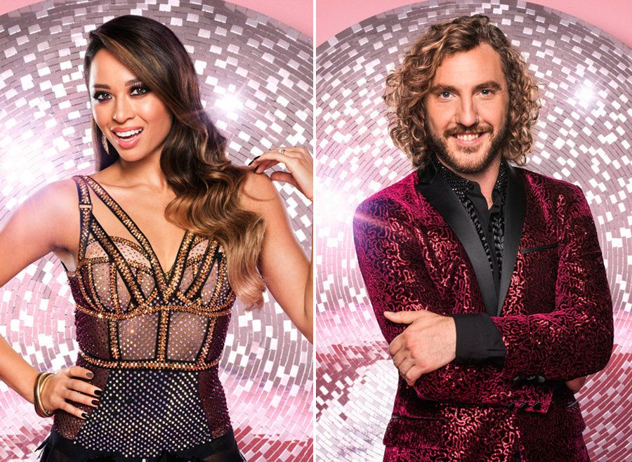 Katya Jones and Seann Walsh