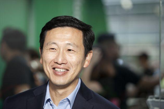 옹예쿵 싱가포르 교육부 장관. 2016년 11월