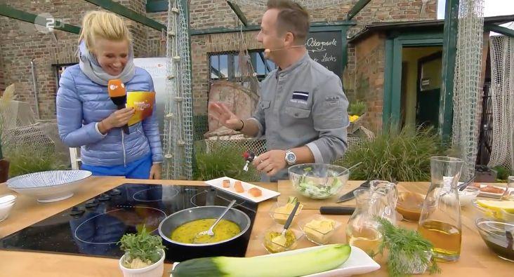 ZDF-Fernsehgarten: Kiewel bringt Gast mit schlüpfrigem Spruch in