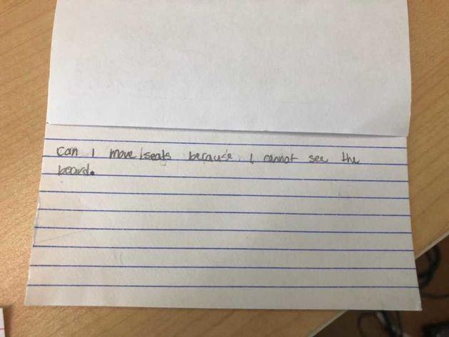 La genial idea de una profesora para saber cómo se sienten sus