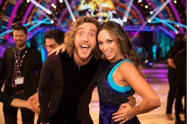 Seann Walsh and Katya Jones were caught kissing in the