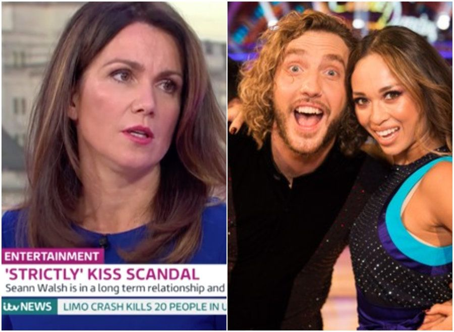 Susanna Reid Defends Katya Jones And Seann Walsh Over 'Strictly Come Dancing' Kiss