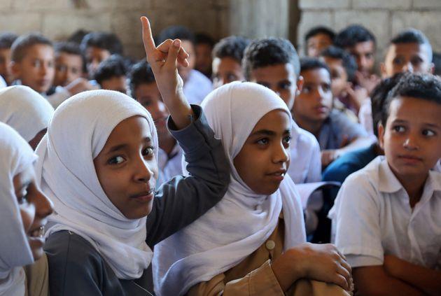 Au Yémen, l'école à la maison pour des enfants de la