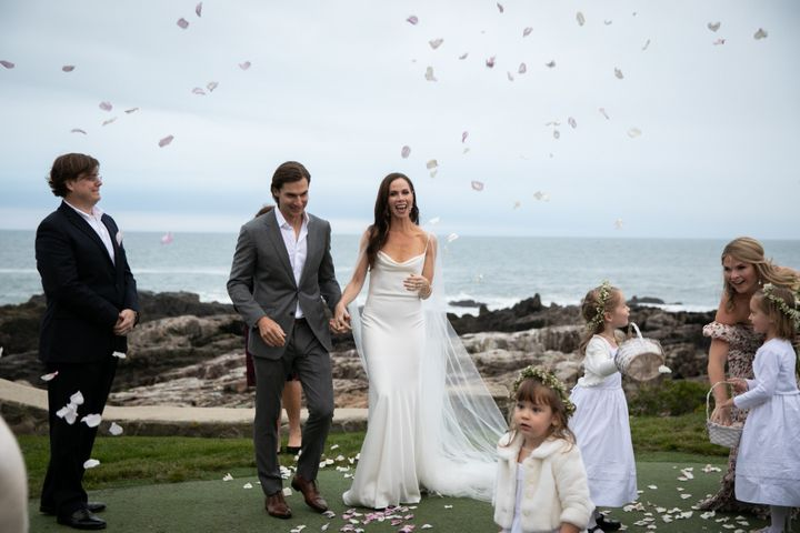 Barbara Bush married screenwriter Craig Coyne at the Bush family compound in Kennebunkport Maine on Sunday.