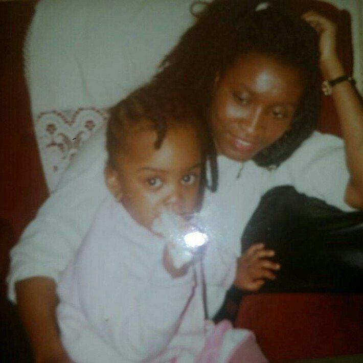 Baby Sherine & Jennifer in the 1980s