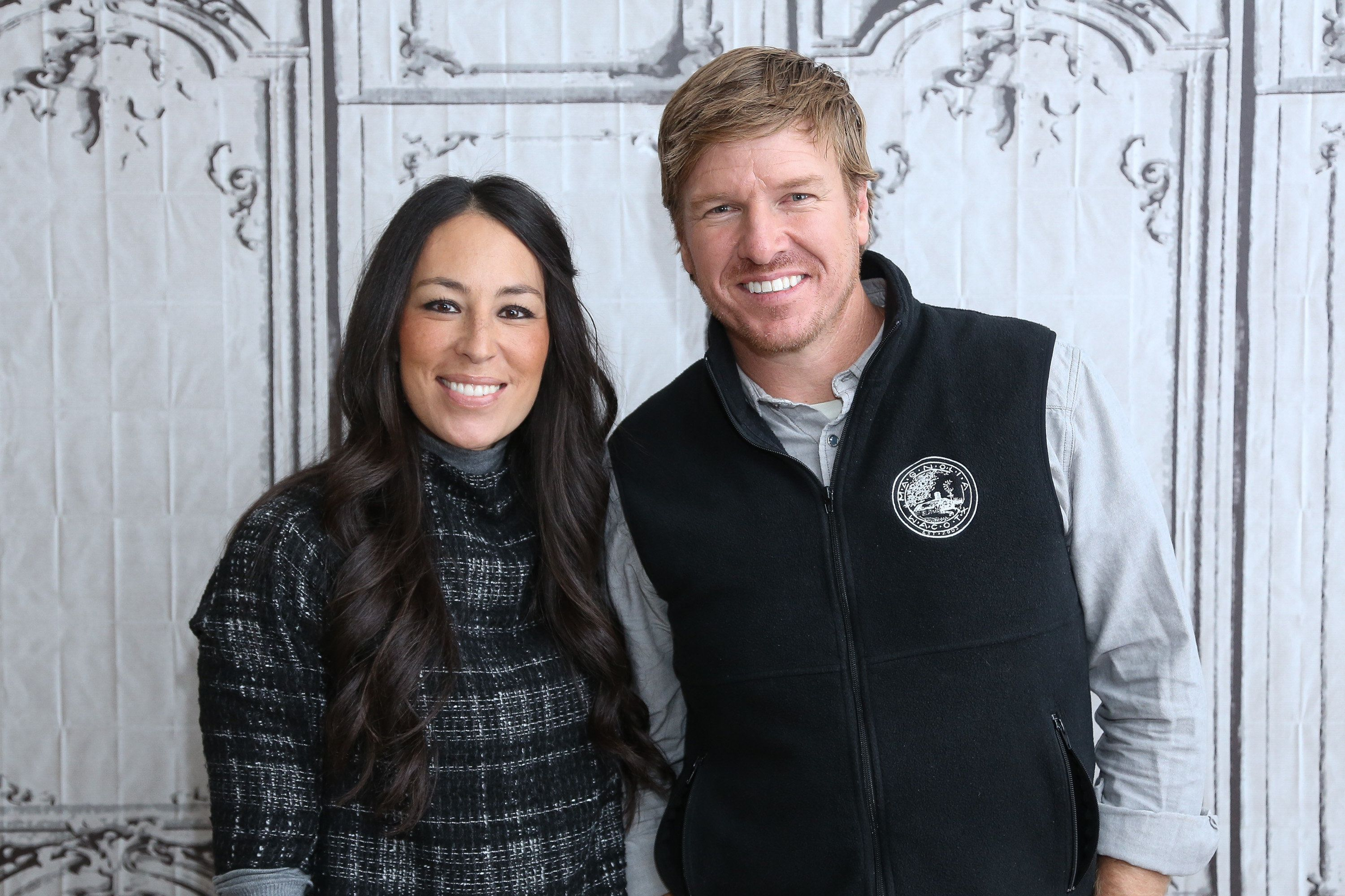 NEW YORK, NY - DECEMBER 08:  Real estate pros Chip Gaines (R) and Joanna Gaines attend AOL Build Presents: 'Fixer Upper' at AOL Studios In New York on December 8, 2015 in New York City.  (Photo by Rob Kim/Getty Images)