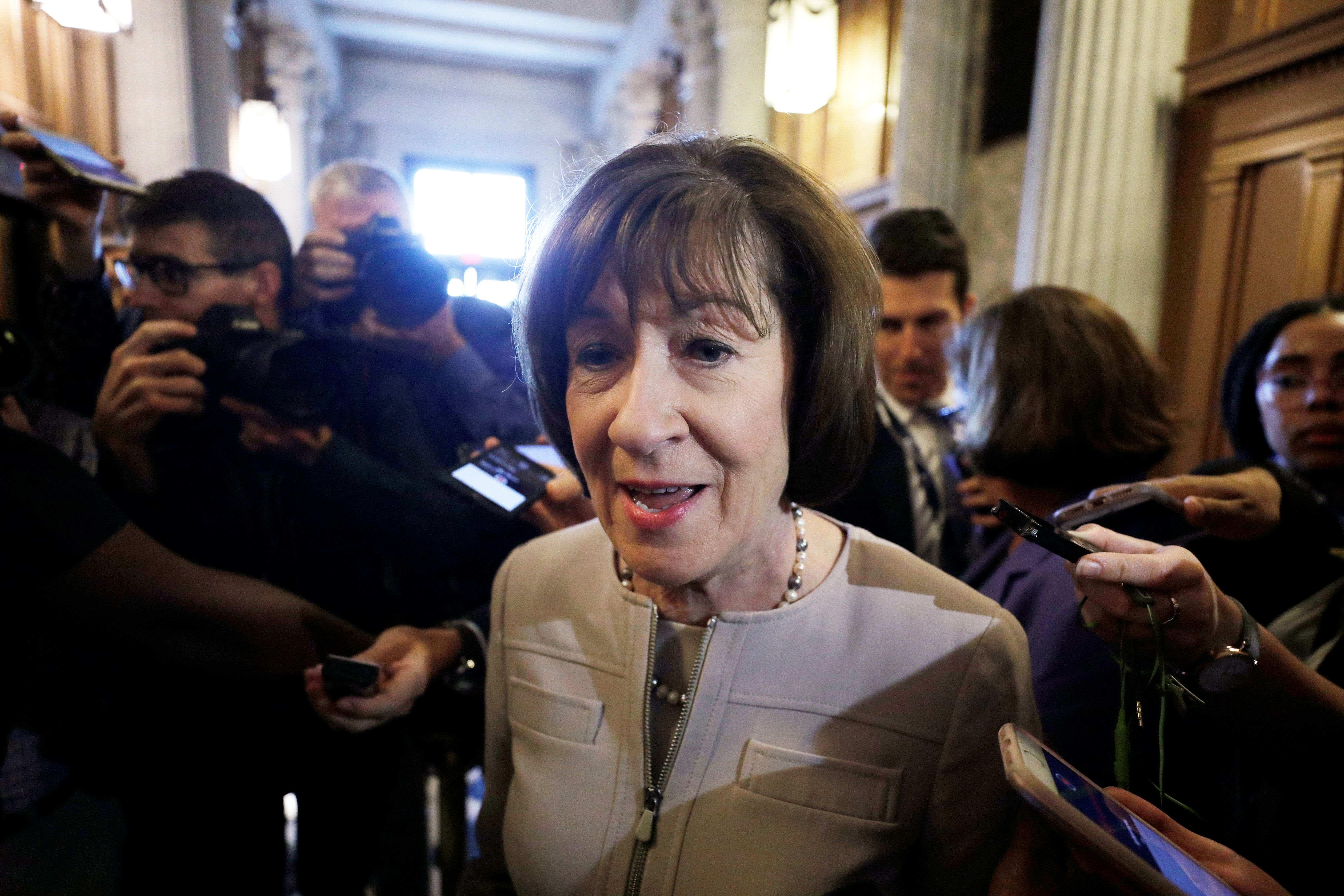 Opinion | Susan Collins Just Sealed Her