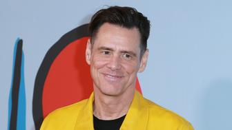 LOS ANGELES, CA - SEPTEMBER 05:  Actor Jim Carrey attends the premiere of Showtime's 'Kidding' at The Cinerama Dome on September 5, 2018 in Los Angeles, California.  (Photo by Leon Bennett/FilmMagic)