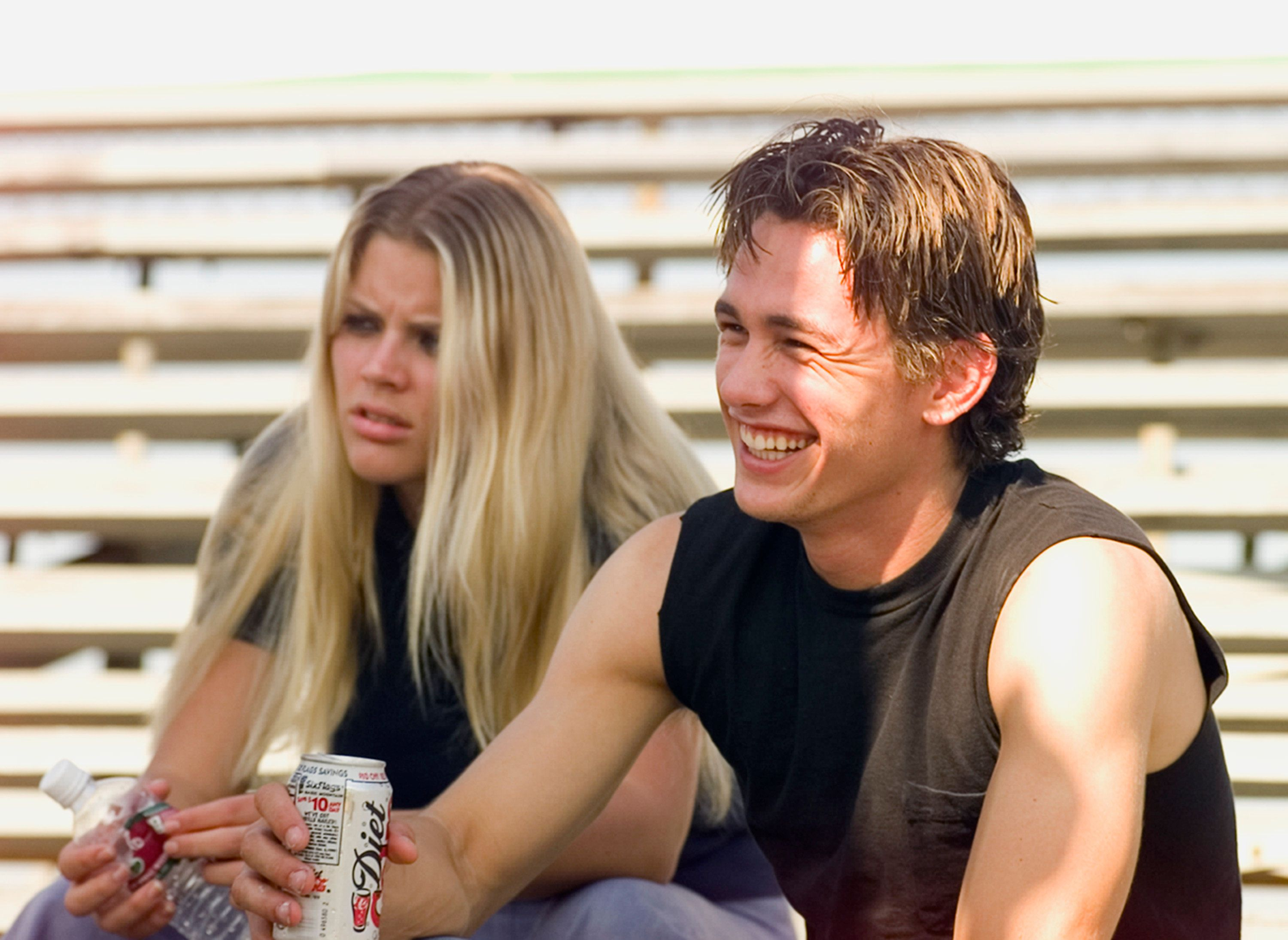 "Busy Philipps and James Franco worked together on the 1990s NBC series ""Freaks And Geeks."""