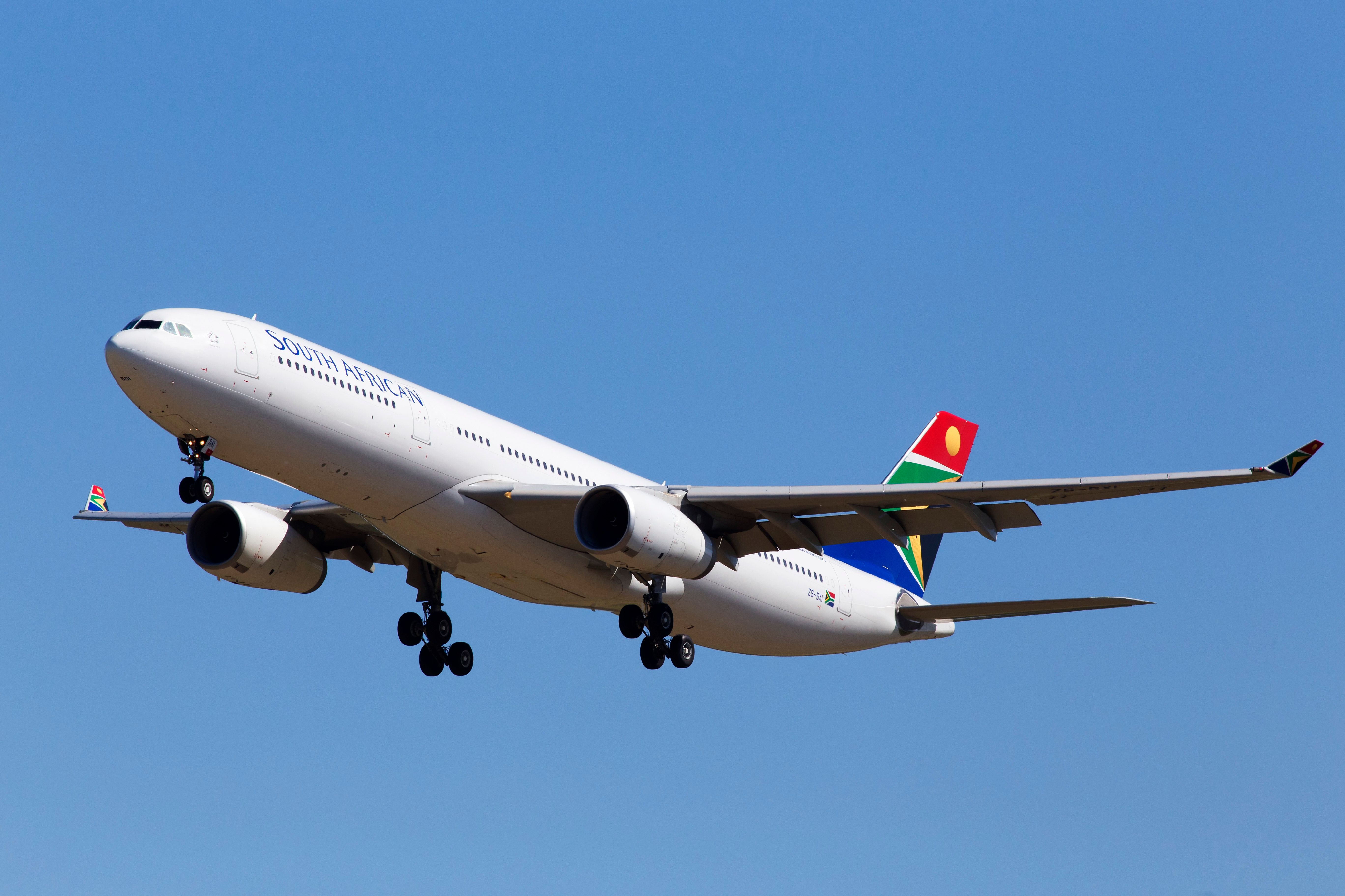 It's not the first time that passengers on board South Africa's national carrier have been targeted by thiev