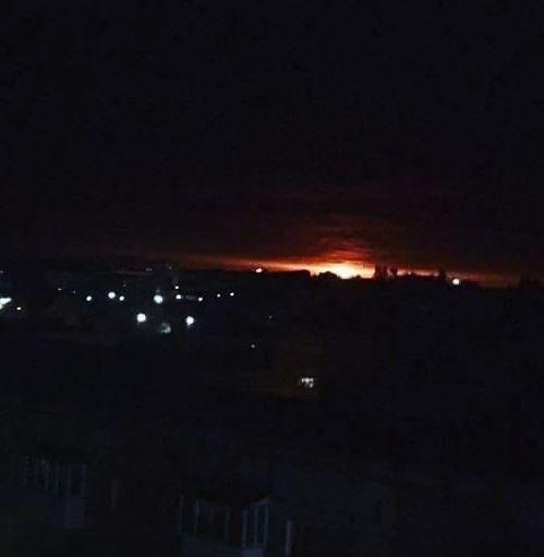 Έκρηξη σε αποθήκη πυρομαχικών στην Ουκρανία. Εκκένωση της