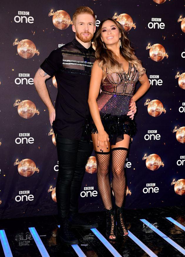 Katya with her husband of five years, Neil