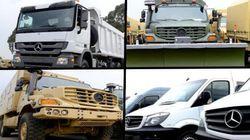 Industrie militaire: livraison de 508 véhicules Mercedes-Benz