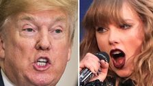 An Old Video Of Donald Trump Listening To Taylor Swift's 'Blank