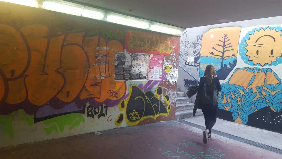 Η HuffPost περπάτησε στις υπόγειες διαβάσεις της Λ. Συγγρού και τα είδε