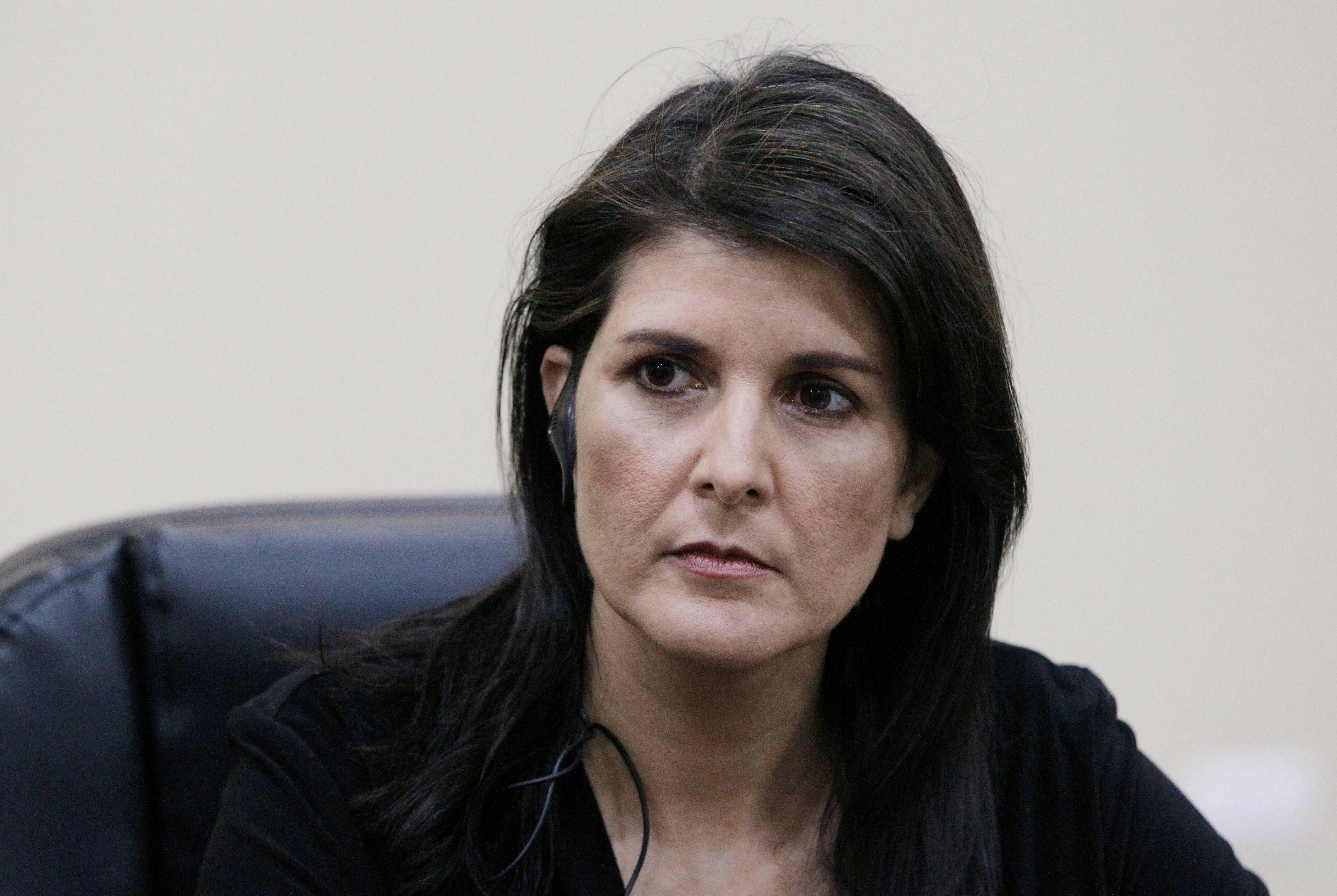 United States ambassador to the UN Nikki Haley reportedly set to resign