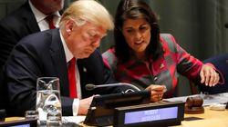 Trumps UN-Botschafterin Haley tritt