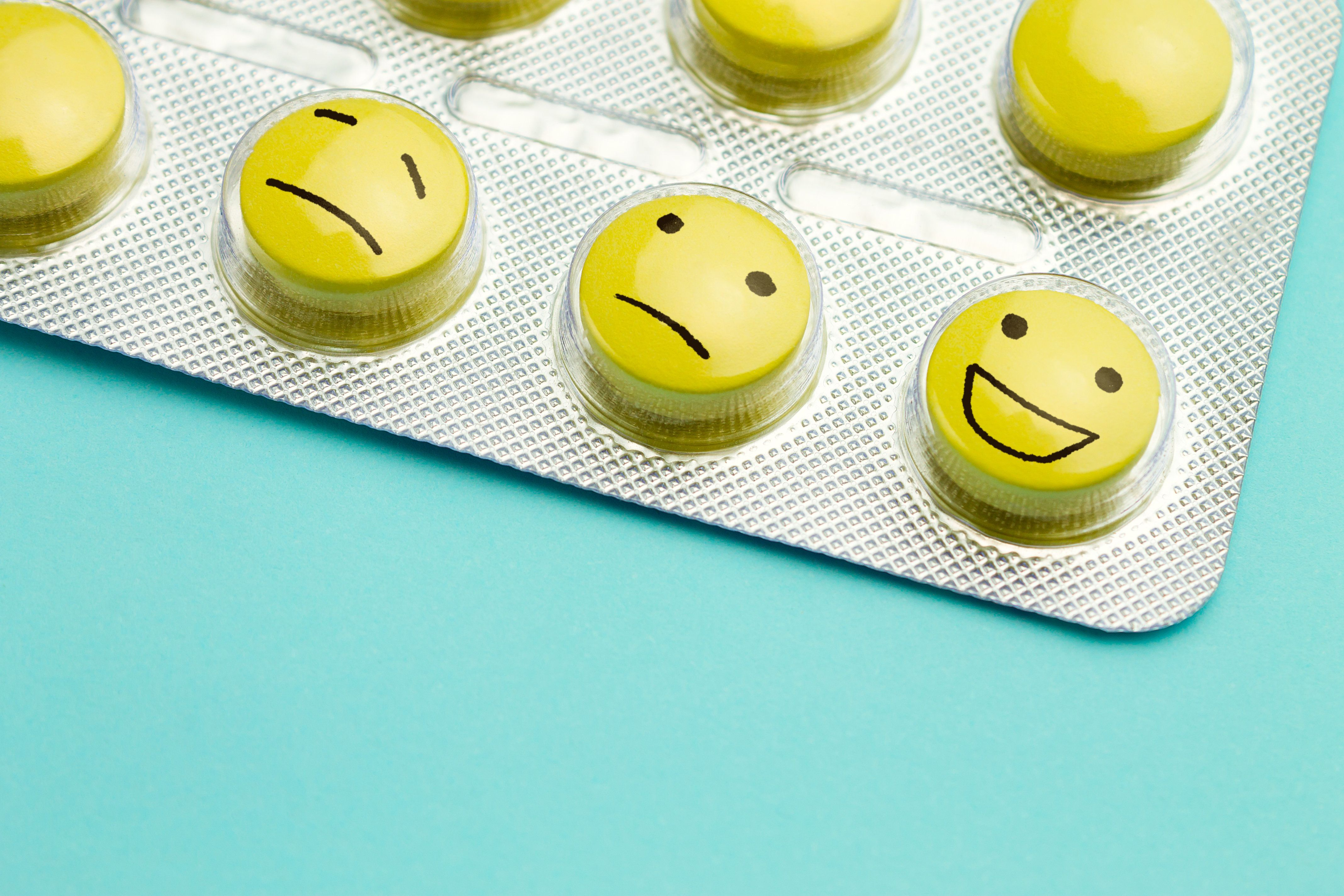 Сoncept of antidepressants and healing
