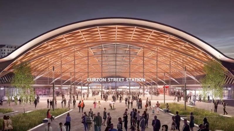 Unimpressed MP Brands Birmingham's New HS2 Station A