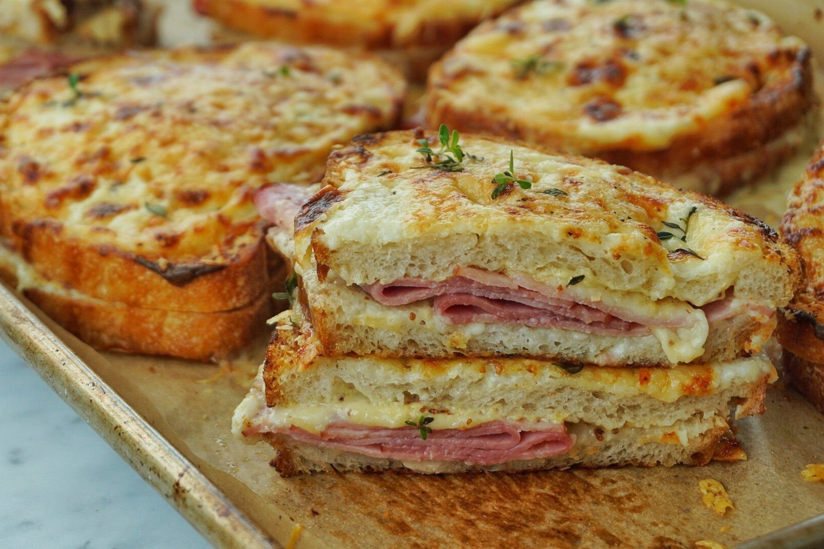 The Fancy French Ham And Cheese Sandwich You Need In Your Life