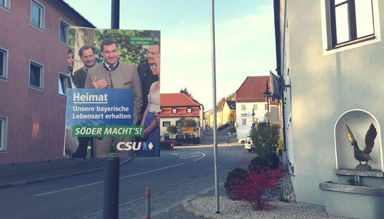 Wie die Veränderungen in einem kleinen bayerischen Dorf den Einbruch der CSU