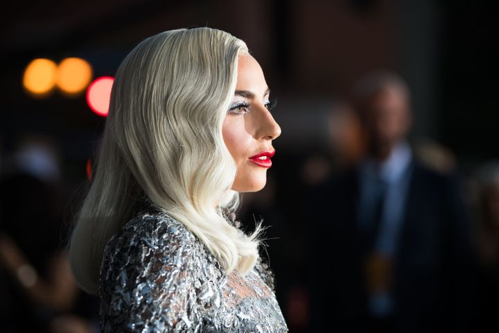 "Lady Gaga attends the premiere of ""A Star Is Born"" in September 2018."