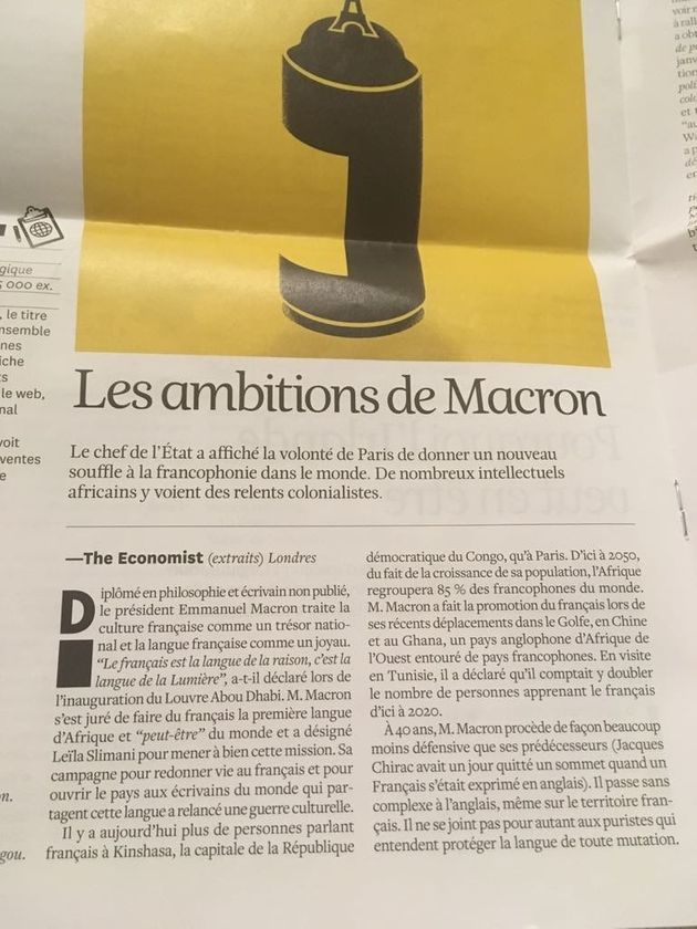 17 ème Sommet de la Francophonie: La langue française comme facteur de