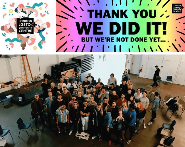 그림 4. 최근 센터 설립을 위한 크라우드 펀딩에 성공한 런던 LGBTQ+