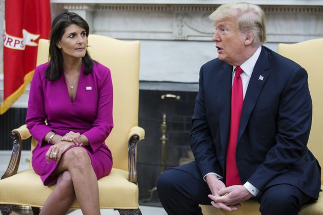 니키 헤일리 유엔대사의 갑작스러운 사임에 의문이 쏟아지고