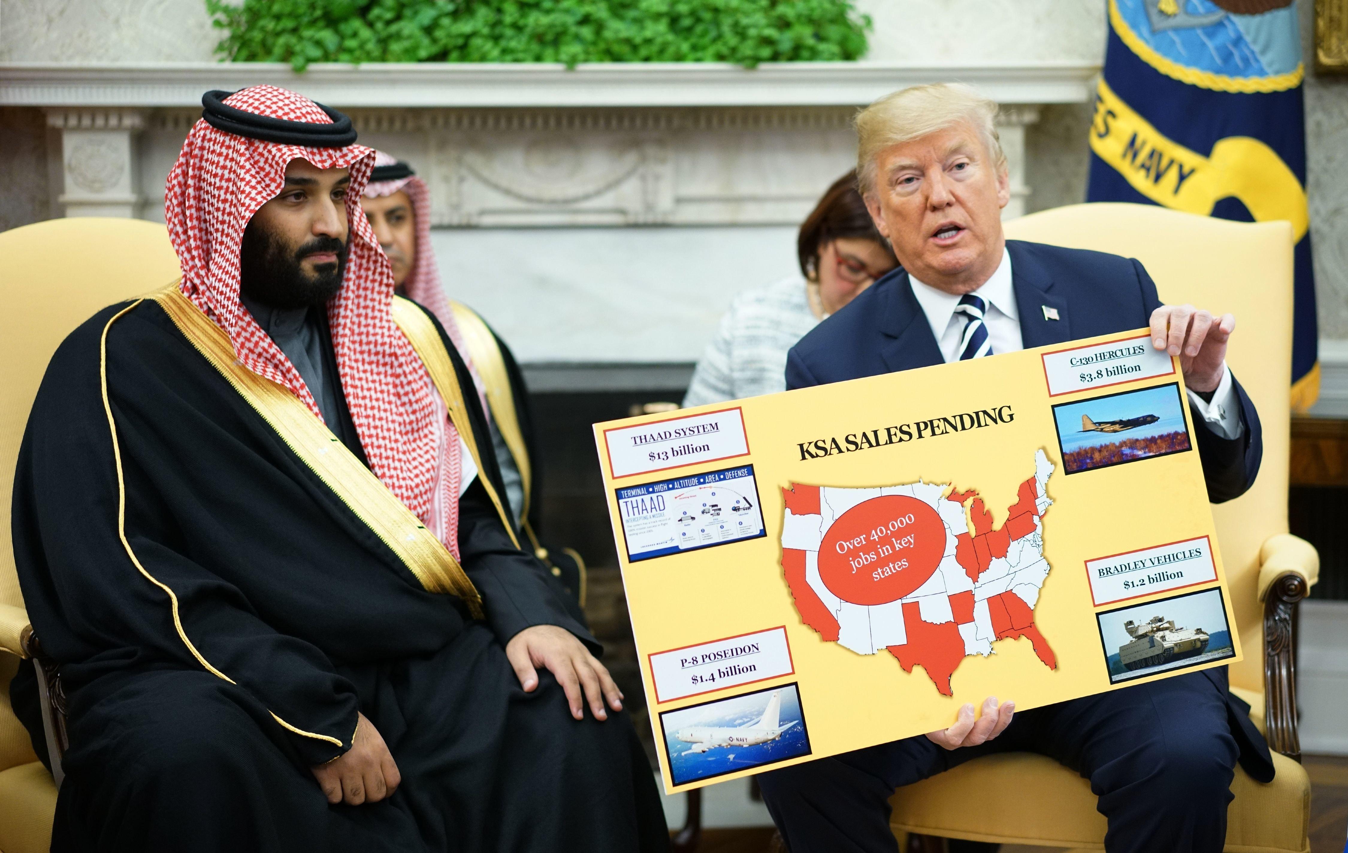 사우디의 로비자금은 어떻게 미국을 예멘 내전에 묶어두고 있나