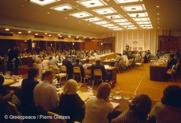 영국 브라이튼에서 열린 IWC 회의