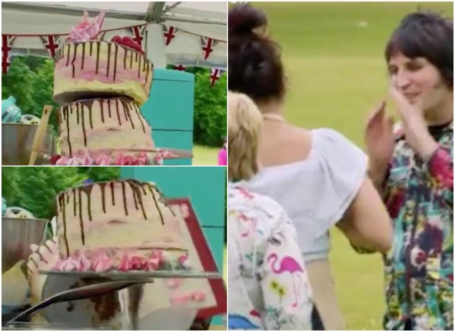 Vegan Week Leaves 'Great British Bake Off' Contestant In Tears After Cake Disaster