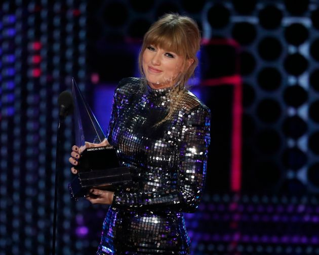 Taylor Swift won four awards at the
