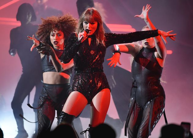 Taylor also performed at the