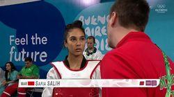 JOJ 2018: La Marocaine Safia Salih se qualifie pour les demi-finales de
