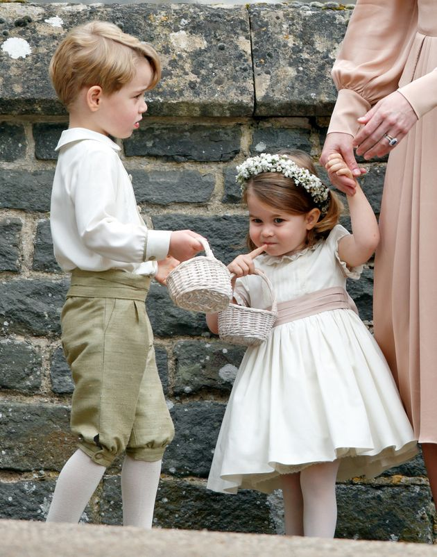 13 Times Prince George And Princess Charlotte Proved They'll Be The Best Royal Wedding