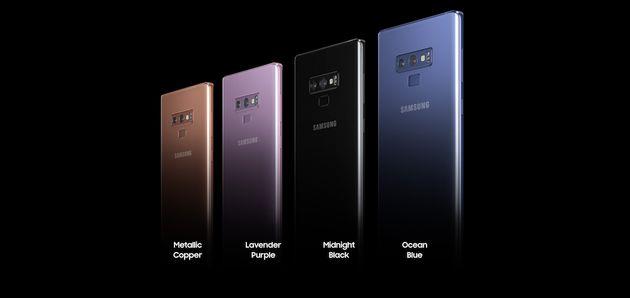 On a testé le Galaxy Note 9, le dernier bébé de