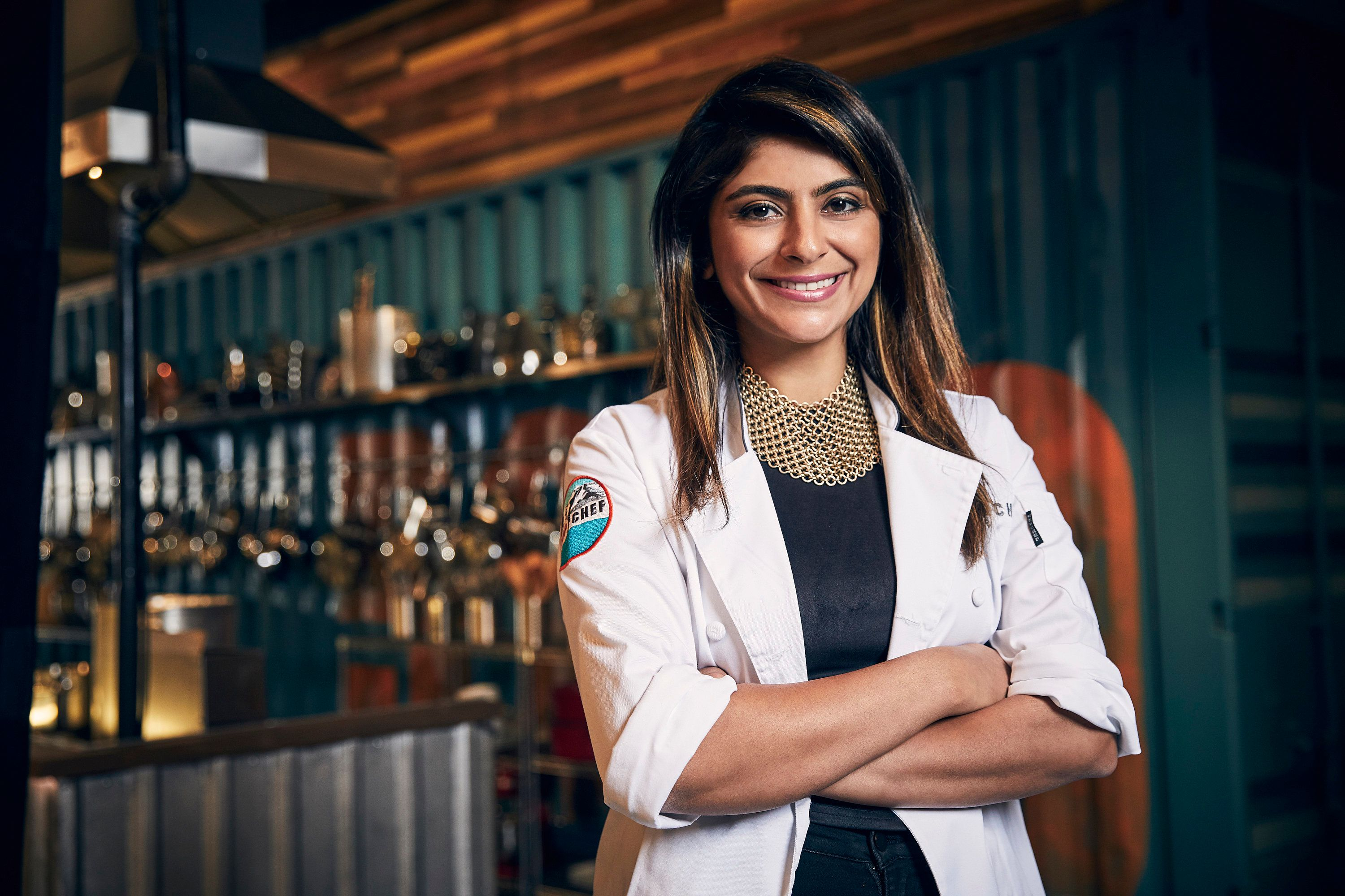 TOP CHEF -- Season:15 -- Pictured: Fatima Ali -- (Photo by: Tommy Garcia/Bravo/NBCU Photo Bank via Getty Images)