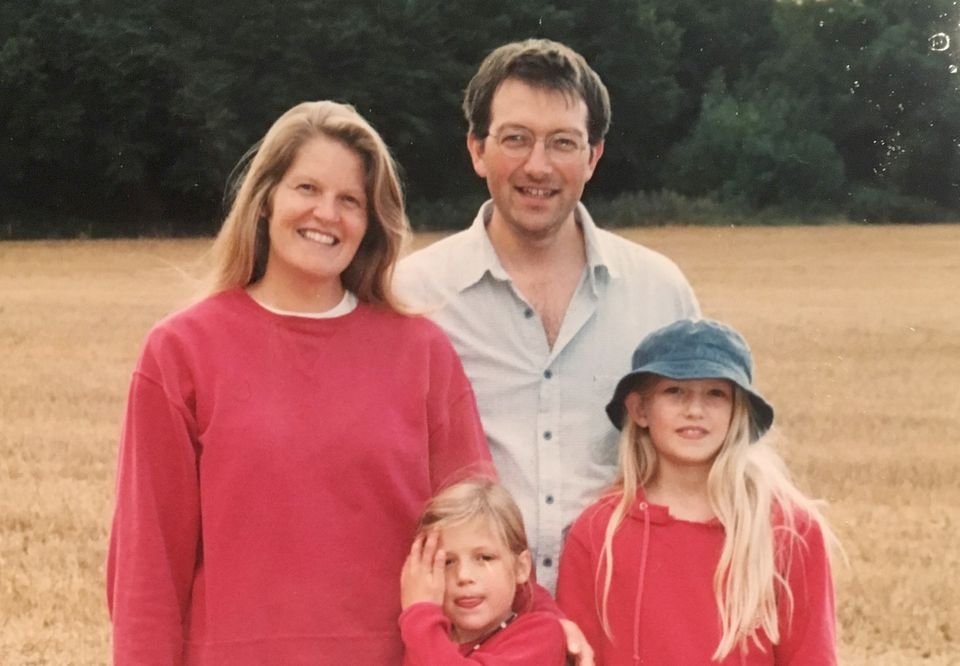 The Williams family, shortly after Cerian's