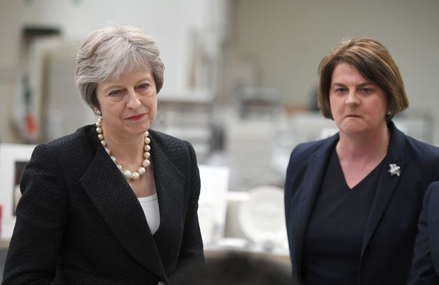 DUP 'Prepared' To Topple Theresa May By Voting Down The Budget If UK Compromises Too Much On
