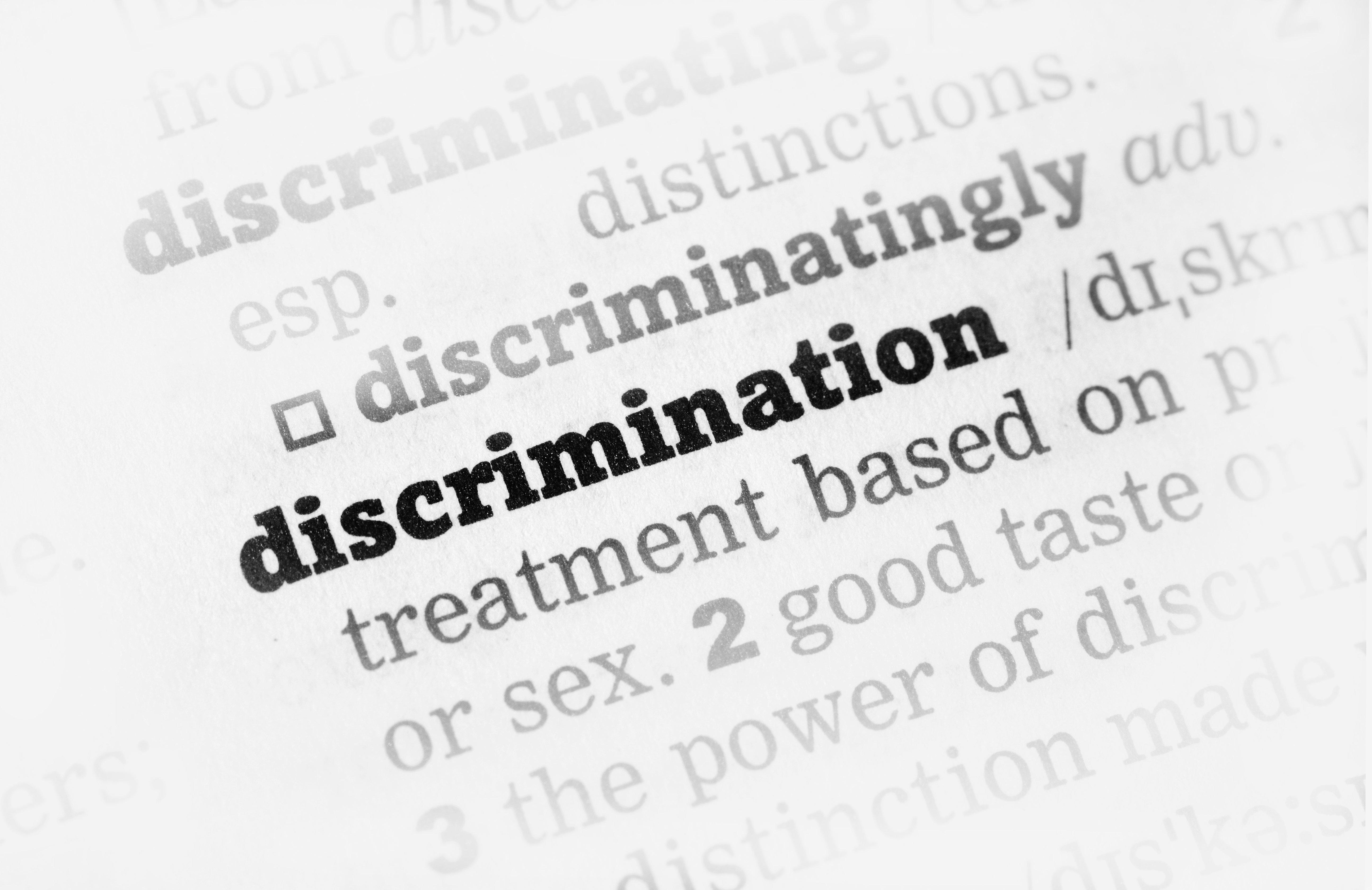 À quand l'abolition de toutes les discriminations en