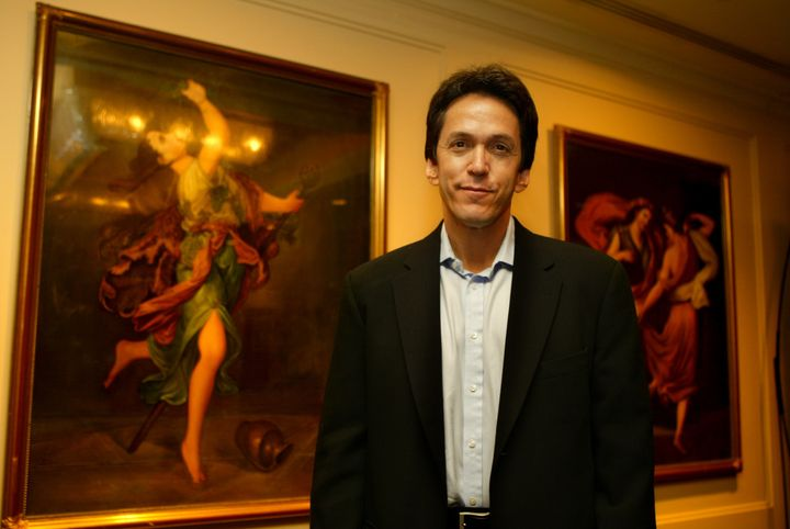 "Mitch Albom, in Sydney in 2005 for the launch of ""The Five People You Meet In Heaven."""