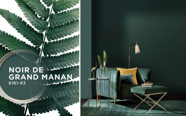la couleur tendance de 2019 est le vert fonc al huffpost maghreb. Black Bedroom Furniture Sets. Home Design Ideas