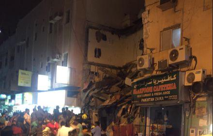 Effondrement d'un immeuble d'habitation au Bahrein:
