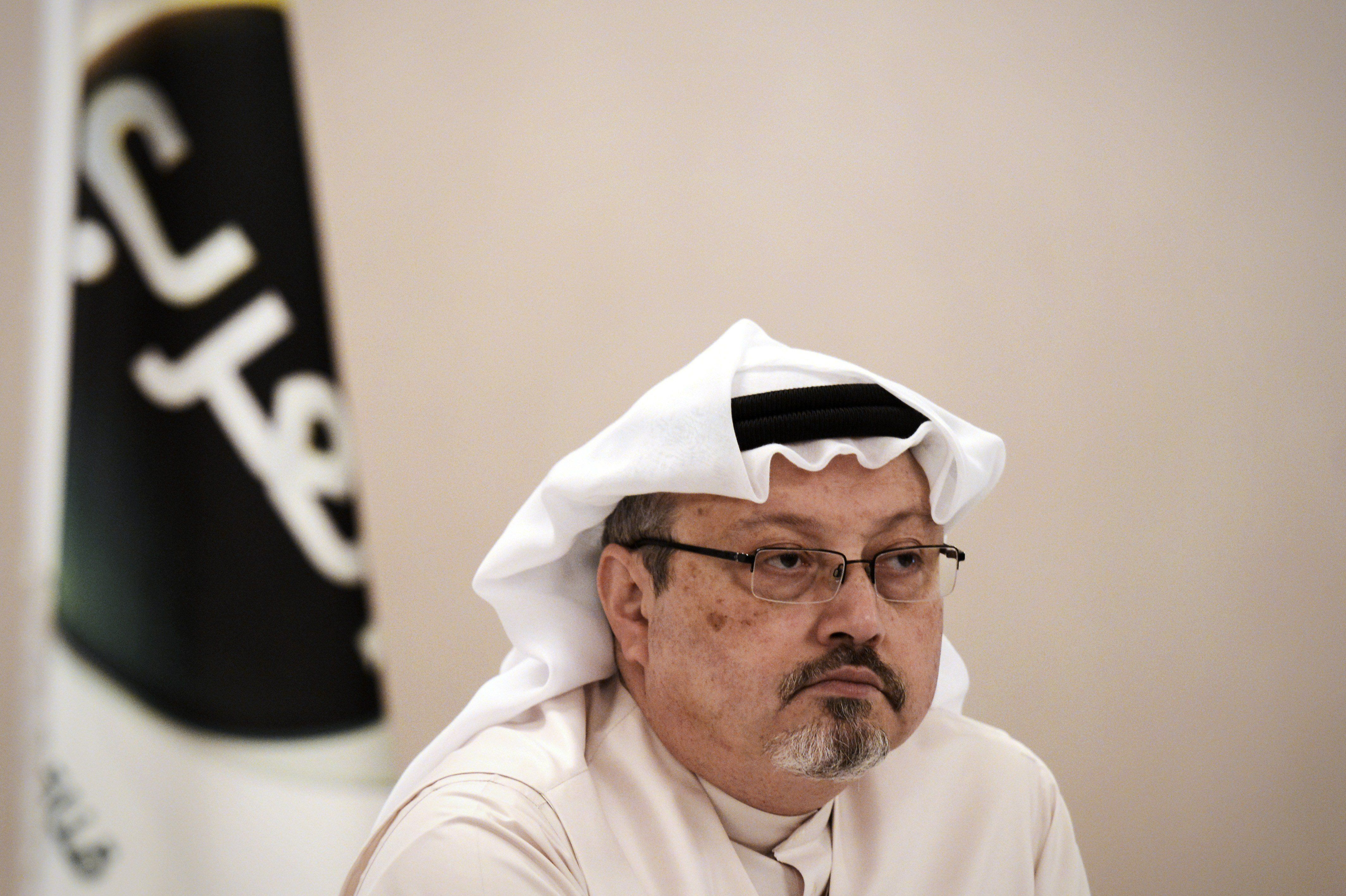 Jamal Khashoggi was last seen entering the Saudi Consulate in Istanbul on Oct.