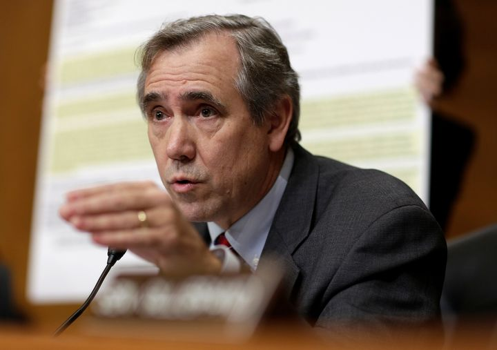 Sen. Jeff Merkley has urged Andrew Wheeler, the acting administrator of the Environmental Protection Agency, to step down.