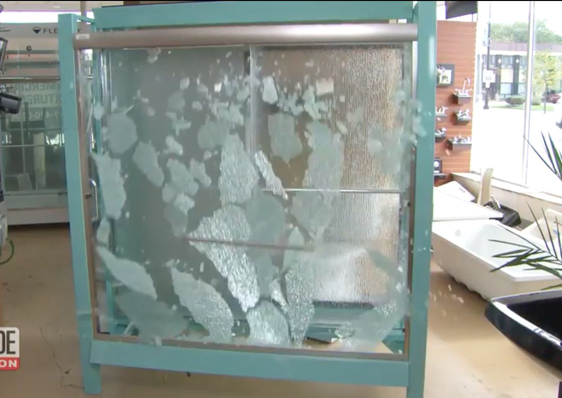 Exploding Shower Doors: Yet Another Thing That Will Make You Cower In