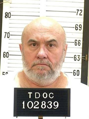 An undated photo of Edmund George Zagorski that was released by the Tennessee Department of Corrections