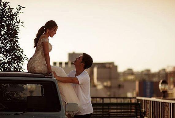 가수 리치가 결혼 8년 만에 결혼식 올린다며 전한 말
