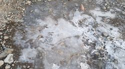 설악산에서 꽁꽁 언 첫얼음이 관측됐고, 내일은 전국이 더